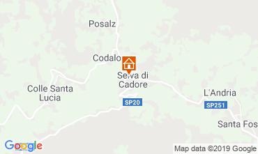 Mappa Selva di Cadore Appartamento 39453