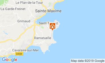 Mappa Saint Tropez Casa mobile 71680