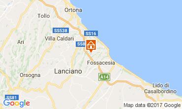 Mappa Rocca San Giovanni Appartamento 108445