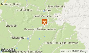 Mappa Besse et Saint Anastaise Chalet 3837