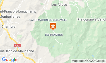 Mappa Les Menuires Chalet 111406