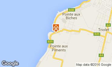 Mappa Pointe Aux Piments Appartamento 48721