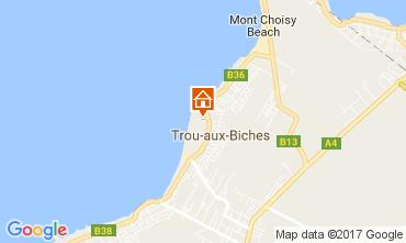 Mappa Trou-aux-biches Villa  100486