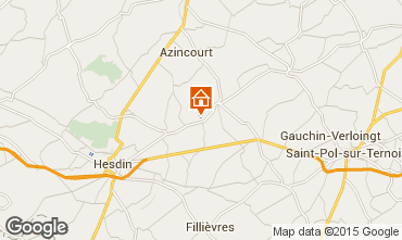 Mappa Hesdin Agriturismo 82435