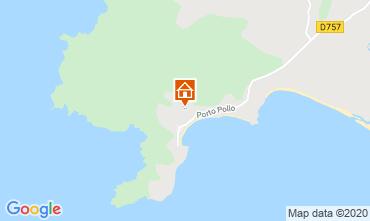 Mappa Porto Pollo Appartamento 114070