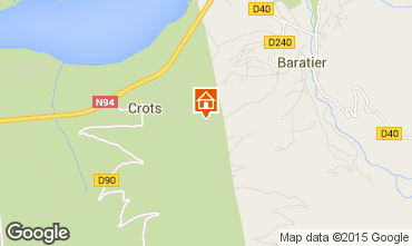 Mappa Les Orres Chalet 74692