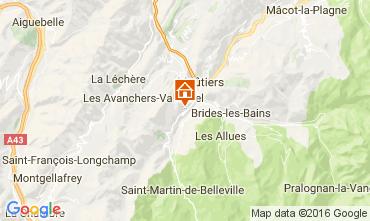Mappa Saint Martin de Belleville Chalet 2645