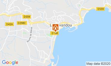 Mappa Le Lavandou Monolocale 95543