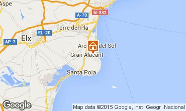 Mappa Santa Pola Appartamento 56526