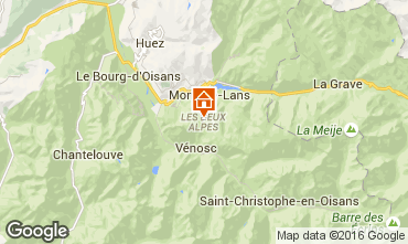 Mappa Les 2 Alpes Monolocale 66132