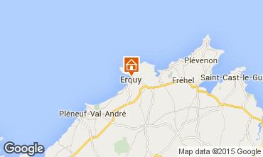 Mappa Erquy Appartamento 72189