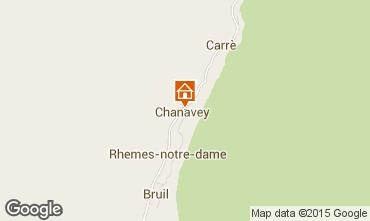 Mappa Rhémes-Notre-Dame Appartamento 101792