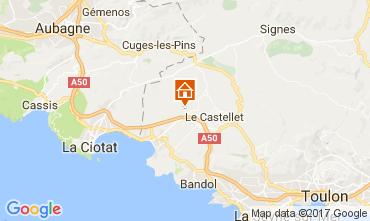 Mappa La Cadière d'Azur Casa mobile 77786