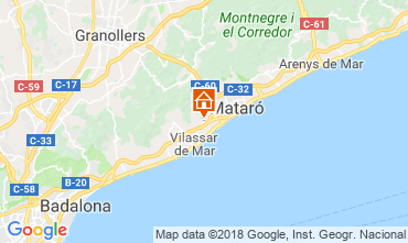 Mappa Barcellona Villa  116089