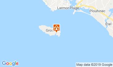 Mappa Locmaria - Ile de Groix Appartamento 118617