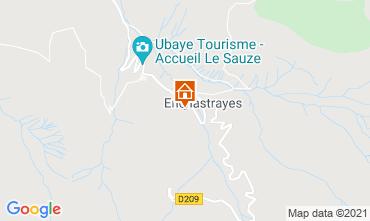 Mappa Le Sauze Monolocale 2795