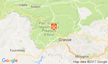 Mappa Grasse Villa  108424
