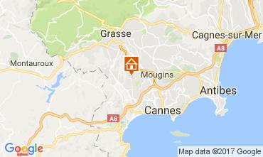 Mappa La Roquette-sur-Siagne Appartamento 110753