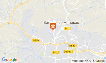 Mappa Bormes Les Mimosas Appartamento 115695