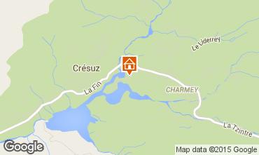 Mappa Charmey Chalet 4805