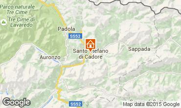 Mappa Santo Stefano di Cadore Appartamento 80005
