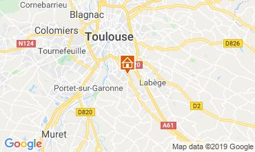 Mappa Tolosa Appartamento 119484