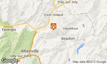 Mappa Les Saisies Appartamento 66491