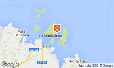Mappa La Maddalena Appartamento 70118