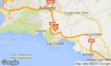 Mappa La Ciotat Villa  5926