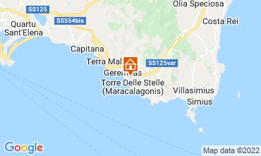 Mappa Villasimius Casa 19314