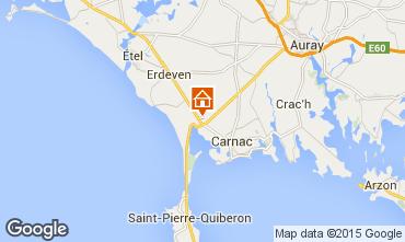 Mappa Carnac Casa 47903