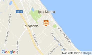 Mappa Bellaria Igea Marina Appartamento 115537