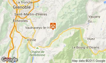 Mappa Chamrousse Monolocale 780