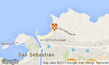 Mappa San Sebastian Appartamento 85133