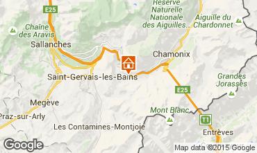 Mappa Chamonix Mont-Blanc (Monte Bianco) Monolocale 65387