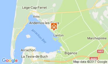 Mappa Andernos les Bains Villa  111085