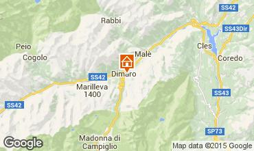 Mappa Dimaro Appartamento 74973