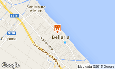 Mappa Bellaria Igea Marina Appartamento 79298