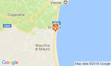 Mappa Vieste Appartamento 113526