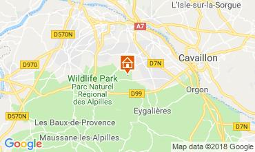 Mappa Saint Rémy de Provence Agriturismo 98340