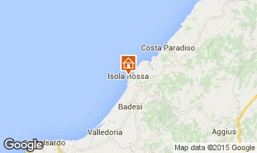 Mappa Isola Rossa Appartamento 42214