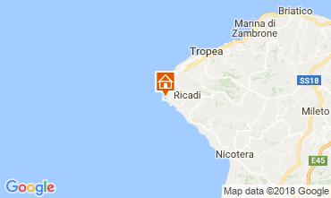 Mappa Capo Vaticano Villa  113093