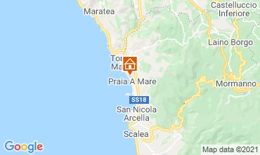 Mappa Praia a Mare Appartamento 95625