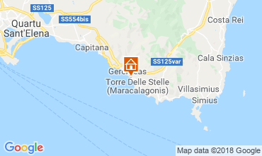 Mappa Geremeas Villa  117544