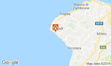 Mappa Tropea Appartamento 98854