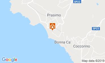 Mappa Capo Vaticano Casa 98854