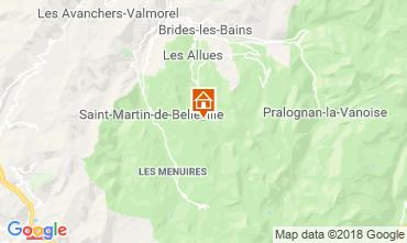 Mappa Méribel Monolocale 116701