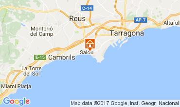 Mappa Salou Appartamento 112156