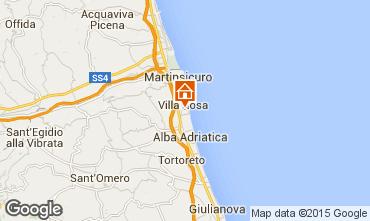 Mappa Alba Adriatica Villa  42663