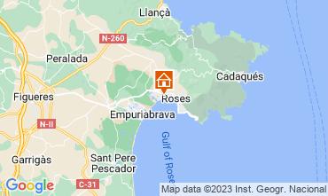 Mappa Rosas Appartamento 63973